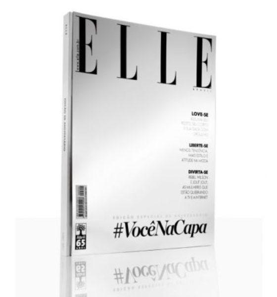 Sua Selfie na capa da Elle